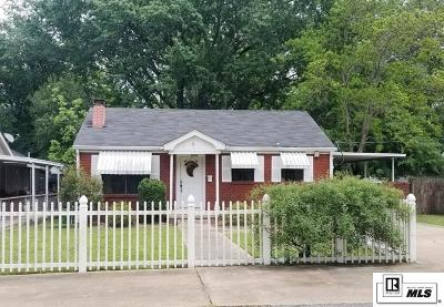 West Monroe Single Family Home New Listing: 2628 N 11th Street