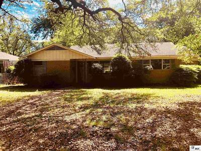 West Monroe Single Family Home New Listing: 2902 N 8th Street