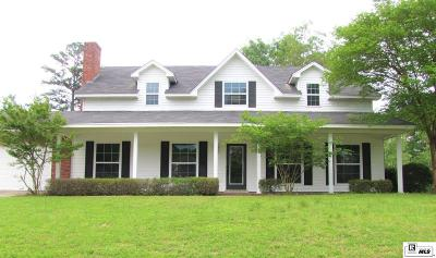 West Monroe Single Family Home New Listing: 100 Lake Point Circle