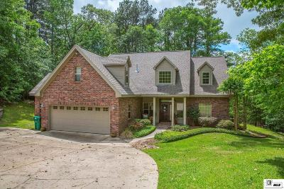 West Monroe Single Family Home For Sale: 103 Pecan Drive