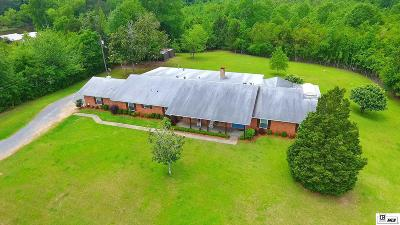 West Monroe Single Family Home Active-Pending: 486 Vancil Road
