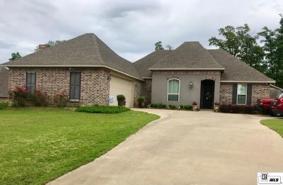 West Monroe Single Family Home For Sale: 409 Austin Oaks Circle