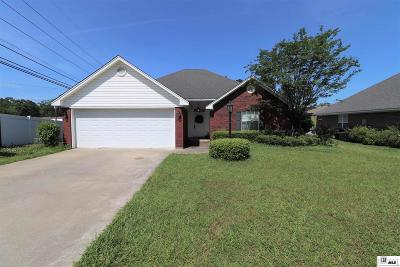 West Monroe Single Family Home For Sale: 101 Dunleith Drive