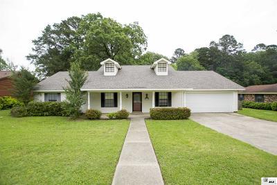 West Monroe Single Family Home For Sale: 215 Summerville Lane