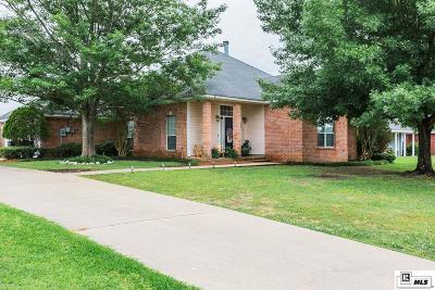 West Monroe Single Family Home For Sale: 608 Kendall Ridge Drive
