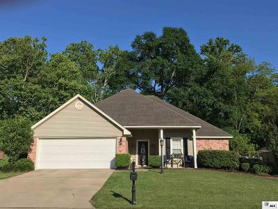 West Monroe Single Family Home For Sale: 110 Dunleith Drive