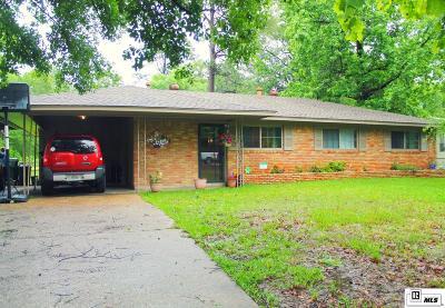 West Monroe Single Family Home For Sale: 911 Washington Street