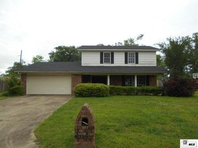 West Monroe Single Family Home For Sale: 101 Westland Place