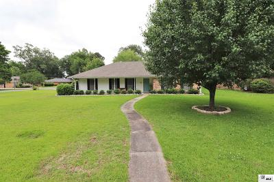 Monroe Single Family Home For Sale: 4106 Woodway Drive