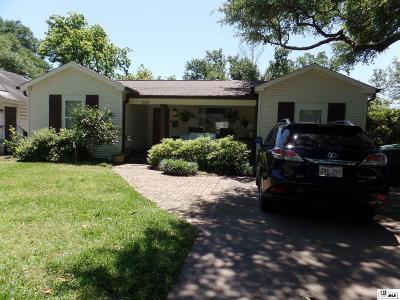 Monroe Single Family Home For Sale: 1506 Milton Street