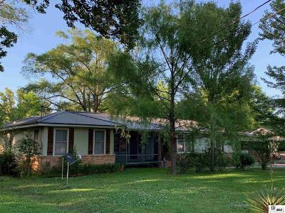 West Monroe Single Family Home New Listing: 1514 Cedar Street