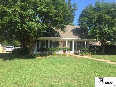West Monroe Single Family Home New Listing: 102 Gretchen Circle