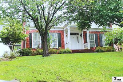 West Monroe Single Family Home New Listing: 222 Lake Village Drive