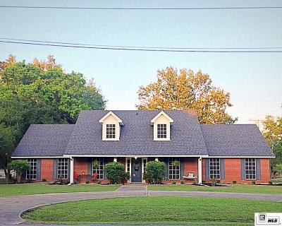 West Monroe Single Family Home New Listing: 200 Chickasaw Drive