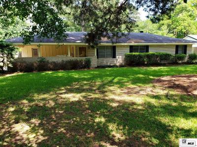 West Monroe Single Family Home New Listing: 2808 N 8th Street
