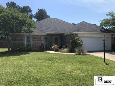 West Monroe Single Family Home New Listing: 120 Lacrosse Circle