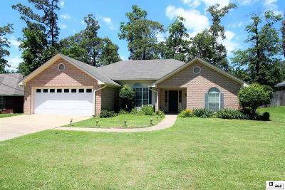 West Monroe Single Family Home New Listing: 114 Stephanie Drive