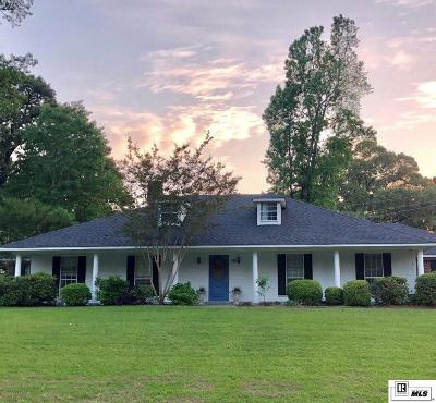 West Monroe Single Family Home New Listing: 180 Commanche Trail