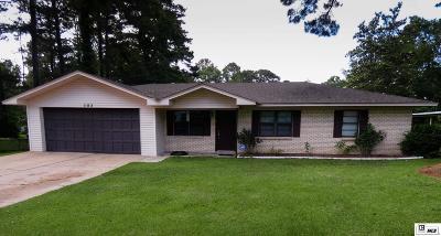 West Monroe Single Family Home New Listing: 102 Sharon Drive