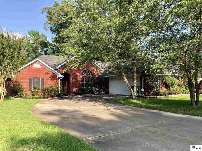 West Monroe Single Family Home New Listing: 103 Mila Drive
