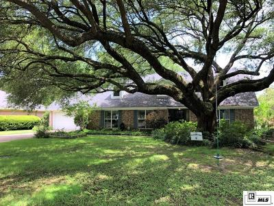 Monroe Single Family Home For Sale: 2607 Indian Mound Boulevard