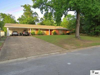 West Monroe Single Family Home New Listing: 112 Tupelo Drive