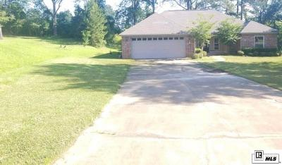 West Monroe Single Family Home New Listing: 105 Mead Circle