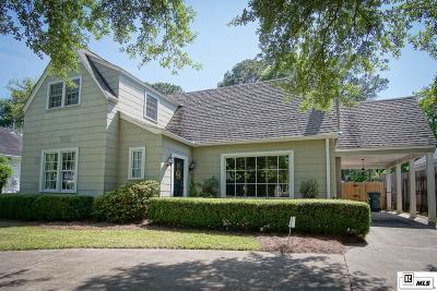 Monroe Single Family Home New Listing: 2309 Myrtle Street