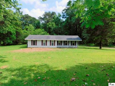 West Monroe Single Family Home New Listing: 665 Highway 34