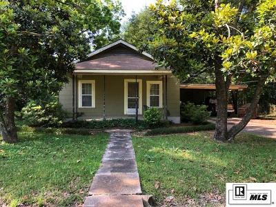 West Monroe Single Family Home New Listing: 1517 Nat Street