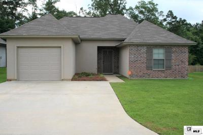 West Monroe Single Family Home New Listing: 115 Carriage Hills Drive