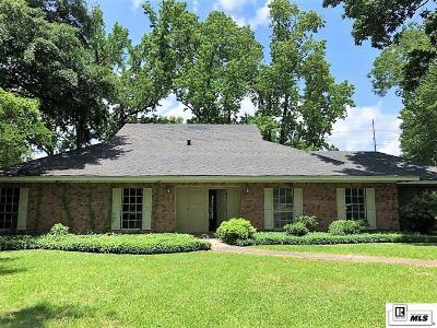 Monroe Single Family Home For Sale: 1913 Richard Circle