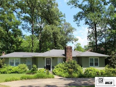 West Monroe Single Family Home For Sale: 906 Hicks Street