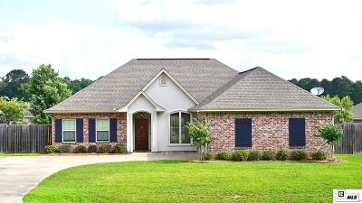 Ruston Single Family Home New Listing: 1607 Rampart Drive