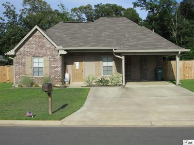 West Monroe Single Family Home Active-Pending: 127 Carriage Hills Drive