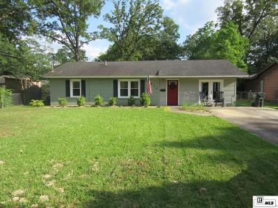 West Monroe Single Family Home For Sale: 1511 Willis Street