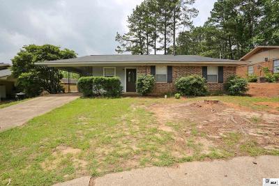 Ruston Single Family Home Active-Pending: 1805 Nancy Drive