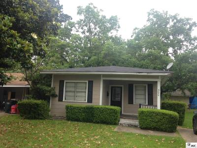 West Monroe Single Family Home For Sale: 300 Jackson Street