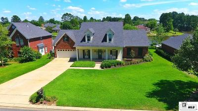 West Monroe Single Family Home For Sale: 410 Lakefront Drive