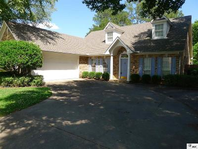 Monroe Single Family Home For Sale: 3313 Oakleigh Circle