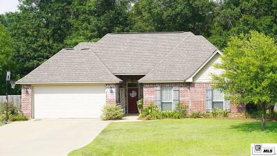 Ruston Single Family Home For Sale: 3110 Canal Street