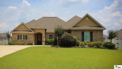 Ruston Single Family Home For Sale: 1707 Rampart Drive