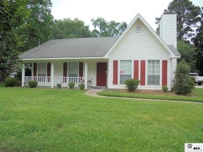 West Monroe Single Family Home Active-Pending: 108 Elias Street