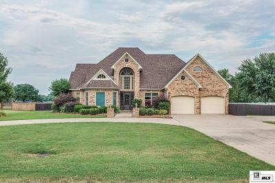 Monroe Single Family Home For Sale: 1464 Frenchmans Bend Road