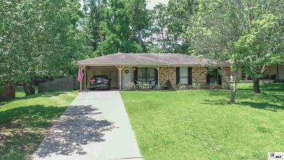 West Monroe Single Family Home Pending Continue To Show: 106 Hardwood Drive