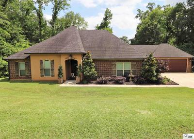 West Monroe Single Family Home For Sale: 107 Bluff Drive