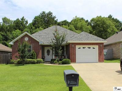West Monroe Single Family Home Active-Pending: 122 Autumn Place Drive