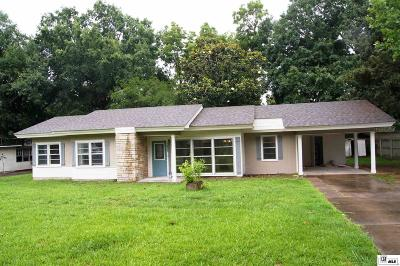 West Monroe Single Family Home For Sale: 1425 Cedar Street