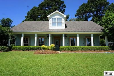 West Monroe Single Family Home For Sale: 305 Lakefront Drive