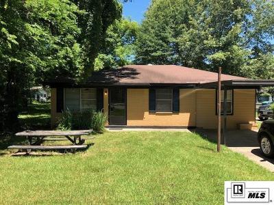 Monroe Single Family Home New Listing: 1613 Girod Street